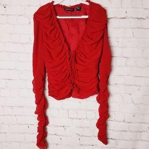 Moda international blouse